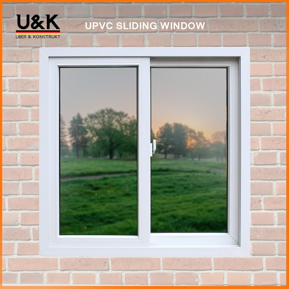 01 White Sliding Window (without Screen)