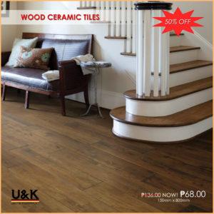 Buy Wood Ceramic Tiles in Manila, Philippines from U&K